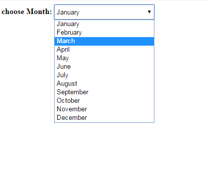 Can we use library functions to get month name