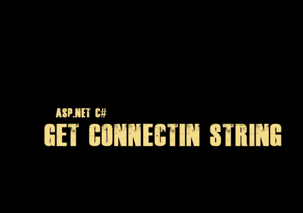 asp net connection string example