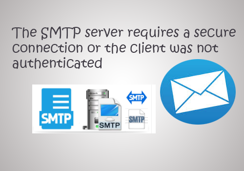 smtp authentication is required