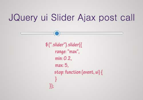 jquery ui range slider set values