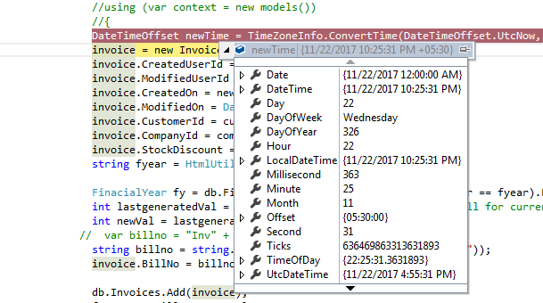 datetimeoffset to datetime c#