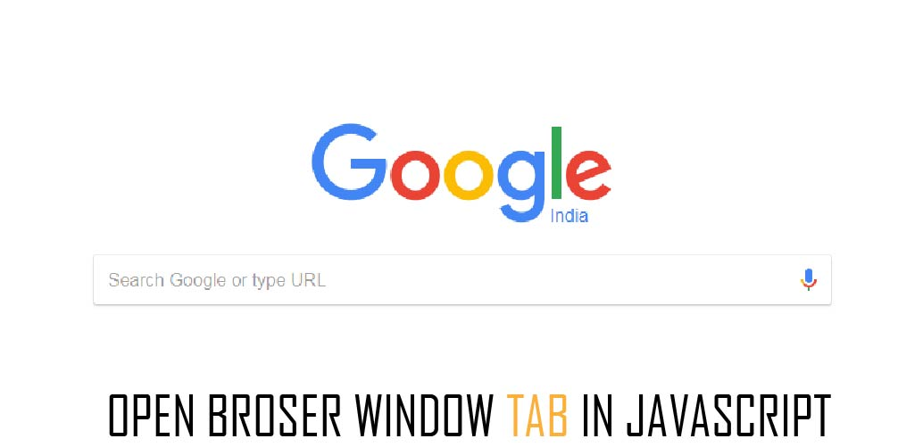 open browser new tab javascript