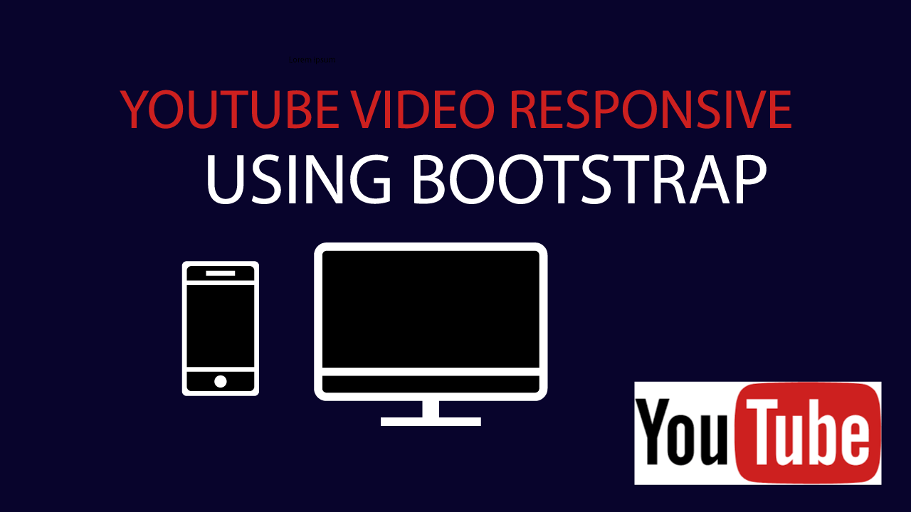 Responsive youtube embed bootstrap